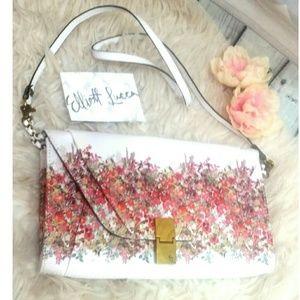 ELLIOTT LUCCA Art canvas art clutch shoulder bag